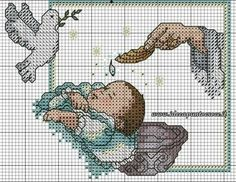 Just Cross Stitch, Cross Stitch Baby, Cross Stitch Charts, Cross Stitch Patterns, Cross Stitching, Cross Stitch Embroidery, Christmas Embroidery Patterns, Religious Cross, Baby Patterns