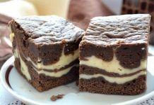 Negresă cu cheesecake, o prăjitură pentru gusturi rafinate Cheesecake, Food, Tarts, Basket, Cheesecake Cake, Banana, Mince Pies, Pies, Cheesecakes