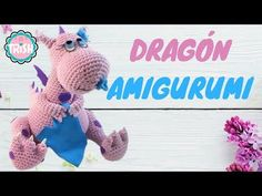 Crochet Dragon Pattern {the perfect size for snuggling with! Crochet Dragon Pattern, Crochet Patterns, Amigurumi Tutorial, Knitting Videos, Crochet For Kids, Crochet Dolls, Snuggles, Cute Kids, Diy And Crafts
