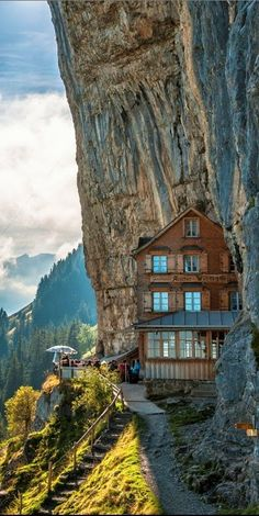 Berggasthaus Aescher-Wildkirchlil, Appenzellerland, #Switzerland ======================= Pinned by: https://www.pinterest.com/nataliyarey  For a ton more inspiration and life hacks come and say 'hi' at: http://NataliyaRey.com  - xoxo Nataliya.  =======================  Keep Up With Me: YouTube: http://nataliyarey.com/youtube  Instagram: http://nataliyarey.com/instagram  Facebook: http://nataliyarey.com/facebook