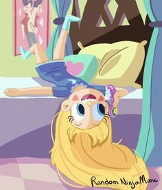Star talking with Marco