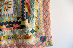 a quilt of small details