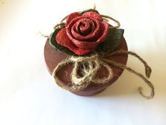 Rustic Ring Bearer Wedding Ring Box by CarolaFlowerDesigns on Etsy, $14.00