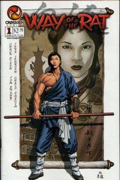 . Rat 1, Martial Arts Movies, Best Comic Books, Fantasy Comics, Image Title, Comics Online, Comic Book Covers, Dark Horse, Comic Art