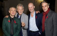 Wonderful fellas at The Supper Club, 4 November 2015. This picture makes me SO happy! :)