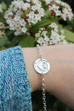 Handmade fine silver owl charm bracelet. Silver owl, owl bracelet, owl jewellery. All sales support my hedgehog hospital for poorly and injured wild hedgehogs.