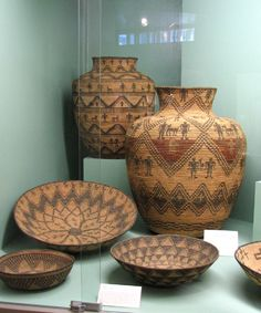 baskets Native American - the skill it took to weave these: