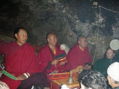 Chod Ceremony in Drak Yerpa with orbs.