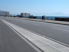 Lungomare and the ZTL, Naples, Italy