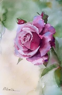 Are you a beginner and want some good idea for painting with watercolor? Here we have some Easy Watercolor Paintings For Beginners Watercolor Paintings For Beginners, Beginner Painting, Easy Watercolor, Watercolor Artists, Watercolor Techniques, Watercolor Flowers, Painting Flowers, Drawing Flowers, Acrylic Flowers