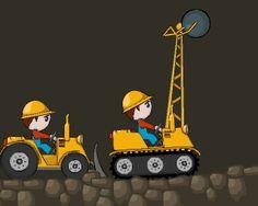 """Bulldozer Kardeşler iki kişilik bir oyundur biri ile yıkım işlerini yapacak diğeri ile de toplama işlemlerini. Karakterlerden ilki """" S, W, A, D """" tuşları ile diğeri de """" Yön Okları """" ile kullanılmaktadır.  http://www.kolayoyun.com/bulldozer-kardesler.html"""