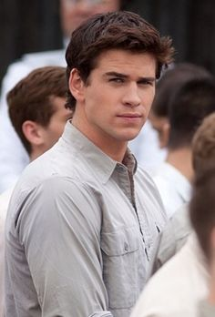 Liam Hemsworth  If I don't marry my boyfriend. I wanna find me a man like Liam Hemsworth. He's so handsome. (^_^)