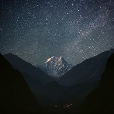 Milky Way. This is in Nepal but don't tell anyone.