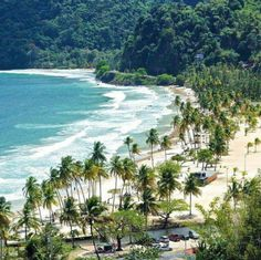 I have been to Trinidad many times before. This is where my parents are from. I have actually been to this beach in the photo. The name of the beach is Maracas Beach. Barbados, Jamaica, Cuba, Trinidad E Tobago, Trinidad Beaches, Trinidad Carnival, Rio Carnival, Santa Lucia, Beach Trip