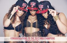 Congratulations to the 2012 NBA Champions - The Miami Heat from Crackhead Snapbacks by Joe Rivera, via 500px