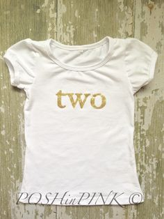 A personal favorite from my Etsy shop https://www.etsy.com/listing/234902351/birthday-toddler-girls-gold-and-white