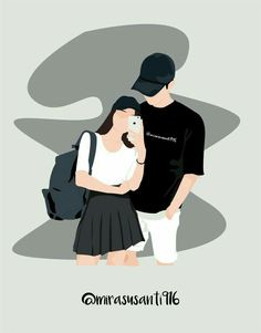 A collection of fan art images for wattpad covers - Recommended fan art pictures to cover for you … # Random # amreading # books # wattpad - Cute Couple Drawings, Cute Couple Art, Anime Love Couple, Couple Cartoon, Girl Cartoon, Cute Drawings, Cute Couples, Cartoon Drawings, Couple Illustration