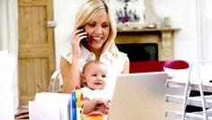 Trabajar desde casa con un recién nacido: ¿Es posible?