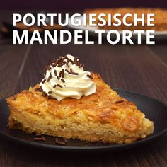 Portugiesische Mandeltorte Portugiesische Mandeltorte The post Portugiesische Mandeltorte appeared first on Kuchen Rezepte. Quick Dessert Recipes, Easy Cookie Recipes, Easy Desserts, Sweet Recipes, Baking Recipes, Sheet Cake Recipes, Almond Cakes, Sweet Cakes, Chocolate Desserts