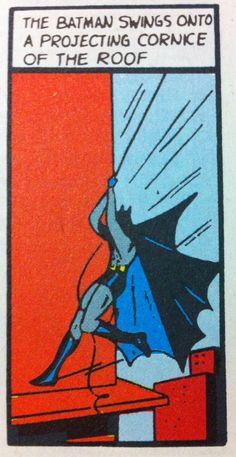 THE BATMAN SWINGS vintage comic #batman