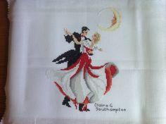 Ballroom Dancing (Design by Stephanie Seabrook Hedgepath)