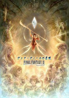 Final Fantasy XI Online Poster