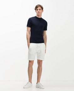BASIC PLUSH BERMUDA SHORTS - Available in more colours