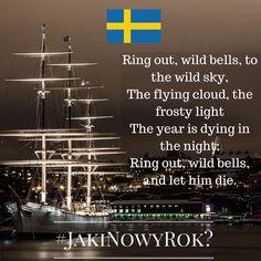 """Jaki będzie Nowy Rok? Tego jeszcze nie wiemy, ale znamy ciekawe sylwestrowe i noworoczne zwyczaje europejczyków. Chcecie je poznać? Śledźcie naszą instakampanię każdego dnia, aż do 1 stycznia 2016 r. Wejdźmy w nowy, 2016 rok razem z nadzieją i uśmiechem!  Dzień 15 - Szwecja! Szwedzi bardzo poważnie podchodzą do obchodów Nowego Roku. Poza typowym, corocznym poparzeniem palców od fajerwerków, każdego roku o północy, szwedzkie rodziny zasiadają przed telewizorem, by wysłuchać wiersza """"Ring Out…"""