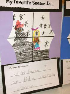 My favorite season Miss Stecs Kindergarten Kollections