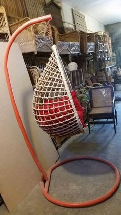 CF-028-A, Jhola (Swing) made of thick cane rod with stand and cushions. Stand made of 14 gauge metal, can hold up to 110 kg weight. PRICE: PKR 18,500 USD 185 Delivery cost on actual