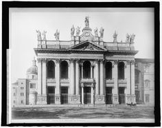 Italy, Rome, Ch. of St. John's (San Giovanni in Laterano) Date:	1916