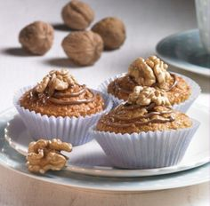 Walnuss-Schoko-Muffins Rezept | Dr. Oetker