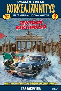 Korkeajännitys - Tehtävä Berliinissä. #egmont #sarjakuva #sarjis