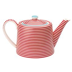 stripey teapot! I need this, in case you were wanting to get me something for my birthday.