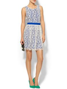 Nelly Lace Fit & Flare Dress Product Image