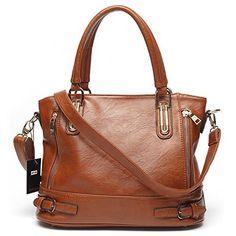 Mlife Medium Women Faux Leather Shoulder Handbag Hobos