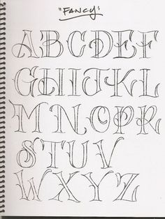 Pretty Letter Font  Google Search  FontsLettering By Hand