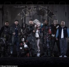 All star cast: The talented actress plays Harley Quinn in the comic book film adaptation a...