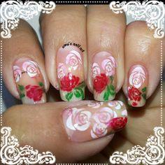 Rose Day mani..