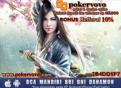 Domino KiuKiu dan Poker Online Minimal dp/wd 25rb No ROBOT!! Bonus Referral 10% Seumur Hidup Tanpa Syarat Double Jackpot Ratusan Juta Setiap Harinya Melayani 6 Bank Lokal : BCA, BNI, BRI, Mandiri, Danamon, PANIN   Informasi lebih lanjut silakan hubungi kami di : YM : pokervovo@yahoo.com Live Chat : pokervovo.com BBM : 2B4DD5F7 Telp : +66830881636