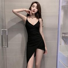 Ulzzang Fashion, Kpop Fashion Outfits, Girls Fashion Clothes, Edgy Outfits, Cute Casual Outfits, Girl Fashion, Girl Outfits, Korean Outfit Street Styles, Korean Outfits
