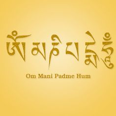 Considered the mantra of Buddha, the powerful invocation 'aum mani padme hum' is said to contain the essence of all Buddhist teachings. Om Mani Padme Hum, Buddhist Symbols, Buddhist Teachings, Allegory Of The Cave, Tibetan Buddhism, Tibetan Mantra, Memories Quotes, Wonder Quotes, Spiritual Wisdom