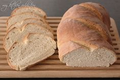 San Francisco Sourdough Bread - I put three ice cubes in a pan under the baking loaf for a crispy crust...