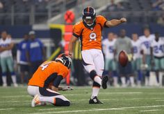 The Denver Broncos are preparing for a playoff push and the team brought in a couple of kickers to push incumbent Brandon McManus. Your football your way.