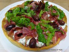 Cuisine en folie: Tarte feuilletée au chèvre frais, Prosciutto di Parma et…