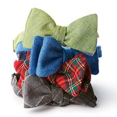 Assorted Bow Ties from thecordialchurchman.com; $29 each