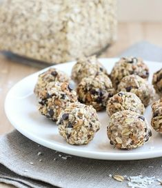 15 Clean-Eating No-Bake Snacks | Alexis Joseph, MS, RD, LD