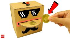 How to Make Automatic Coin Bank Box from Cardboard Today I'm gonna show you How to Make Automatic Coin Bank Box from Cardboard! Ring Light For Camera, Cardboard Toys, Money Box, Coins, Make It Yourself, How To Make, Ebay, Lights, Youtube