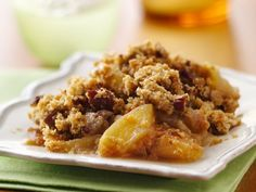 Apple-Pecan Crisp  I almost forgot about this little gem - made it last fall and it was DELICIOUS! sooo easy too!
