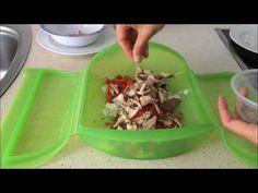 Atún con salsa de tomate en estuche de vapor Lekue - YouTube